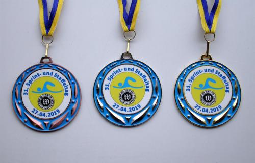 TSV Wittenau  Sprint 2019 Medaillen